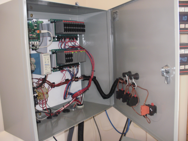 Photo of Concrete Rhino Batch Controller Wall-Mount I/O Panel